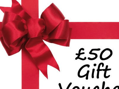 LEISURE WHEELS £50 Gift Voucher